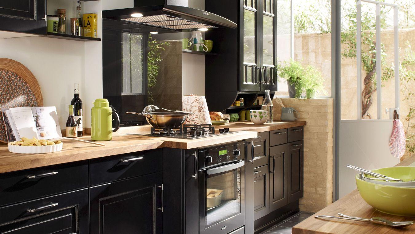 mod le bistro cuisines lapeyre martinique. Black Bedroom Furniture Sets. Home Design Ideas